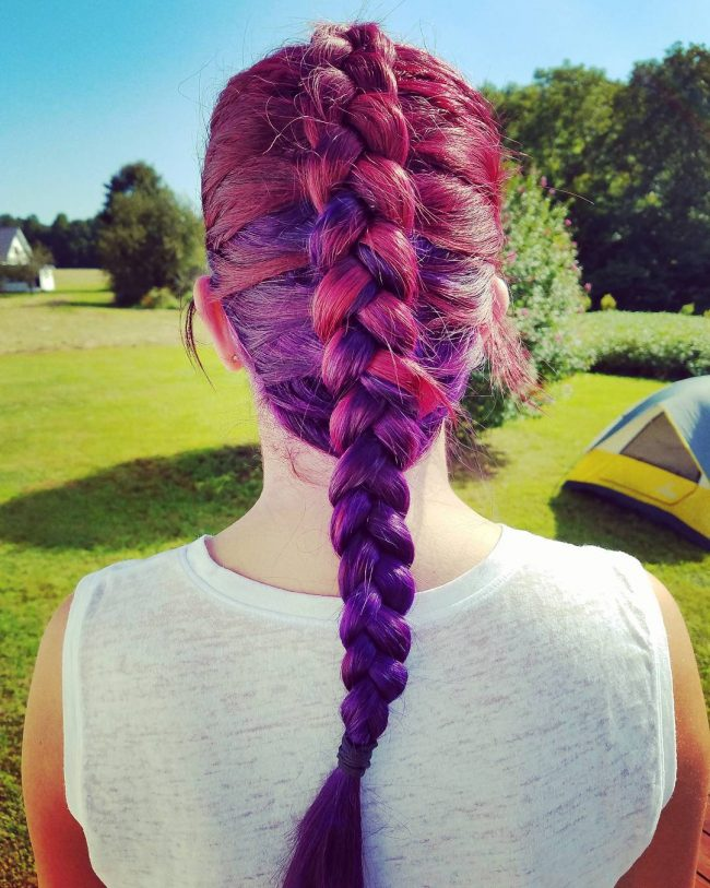 Remarkable Summer Two Tone Hair