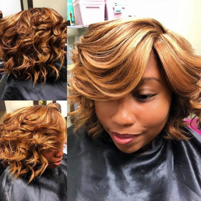 Sassy Multi-Textured Blowout