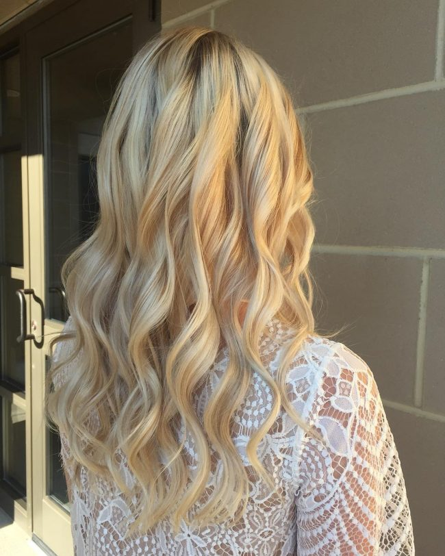 Sculpted Beach Waves