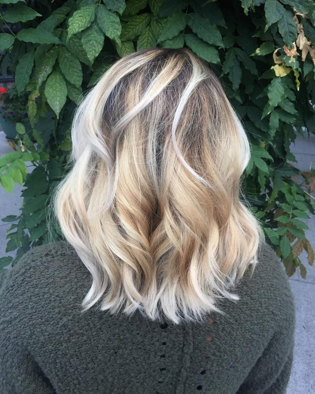 Shadowed Roots with Pearly Tips