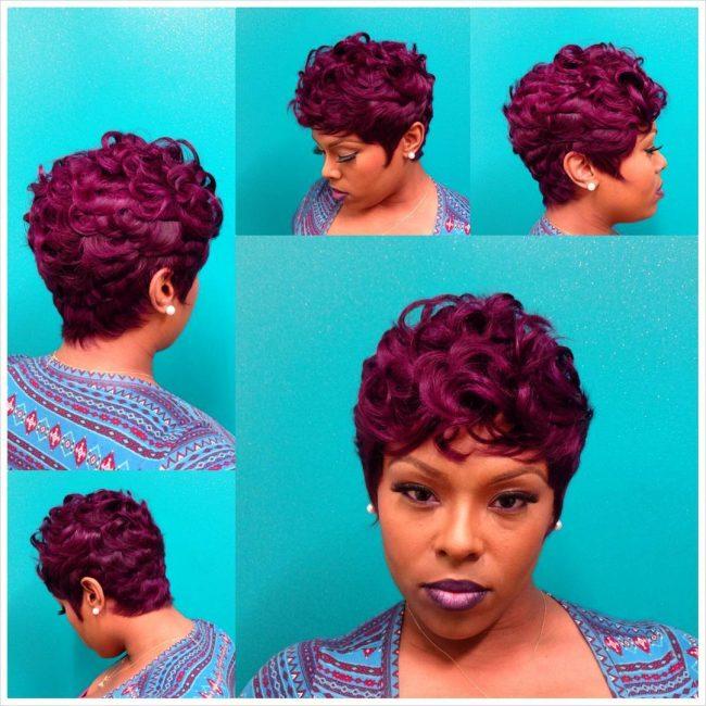 Short Violet Waves