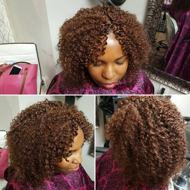 Short and Cute Curly Bob