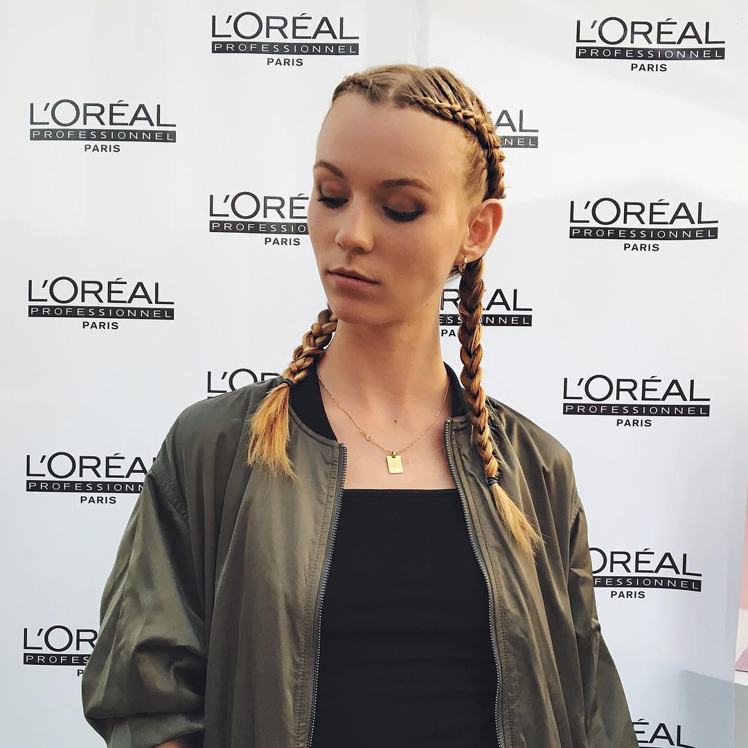 how to make french braid pigtails