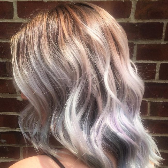 Silver Blonde Ombre