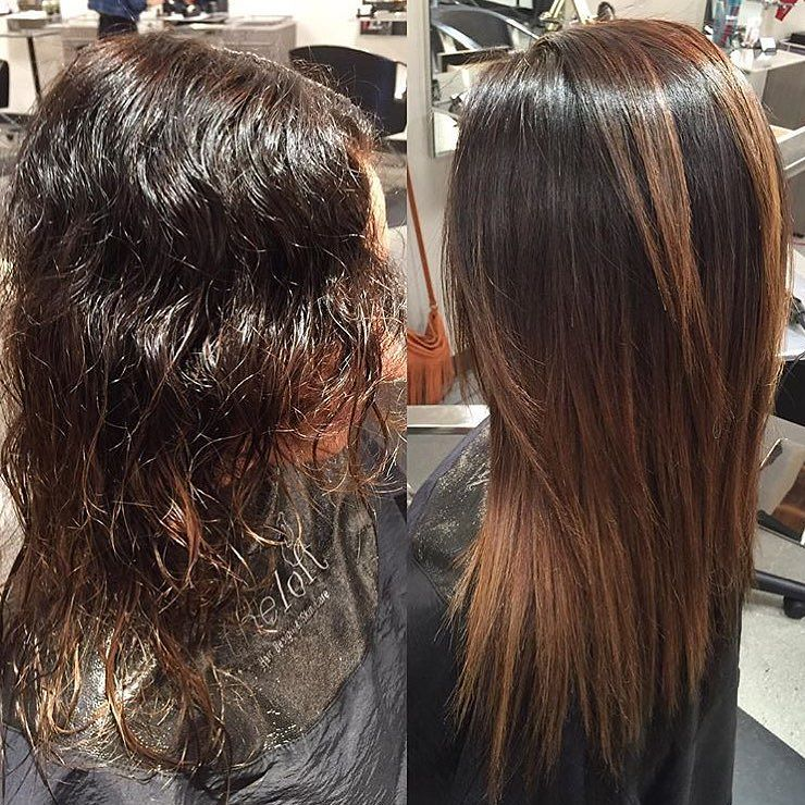 25 Stunning Brazilian Blowout Hairstyles Unbelievable Before And After