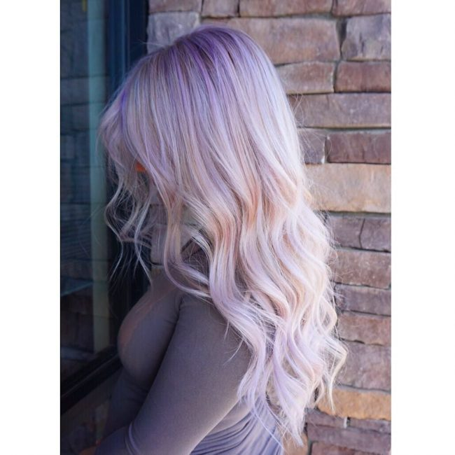 Soft Lavender Blonde