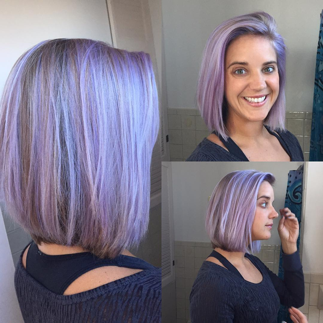40 Charming Light Purple Hair Color Ideas — Elegance Is ...
