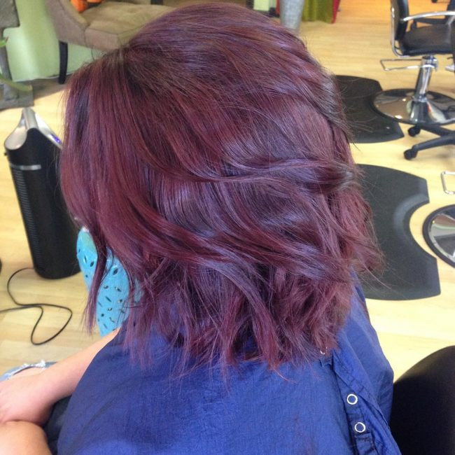 Stacked Wine Red Locks
