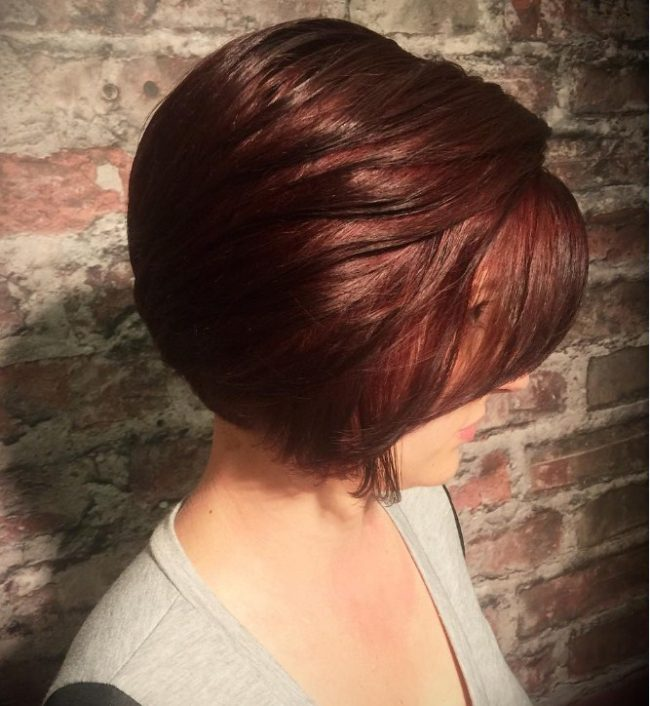 Structured Russet Brown