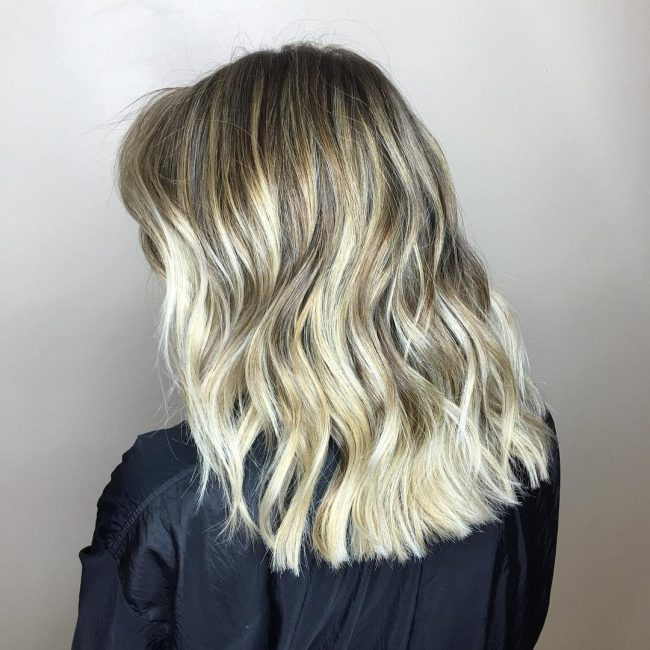 Sunkissed Balayage Blonde Hair
