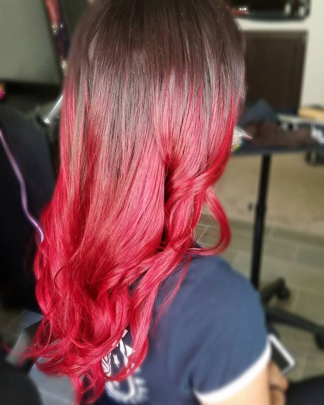 Sweet Candy Apple Ombre