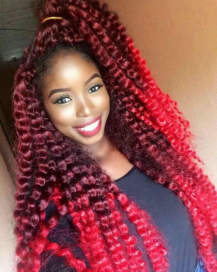 Crochet Red Hairstyles : 50 Chic Crochet Weave Hairstyles - Designs Worth Trying