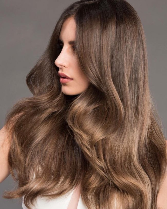 Voluminous Light Brown