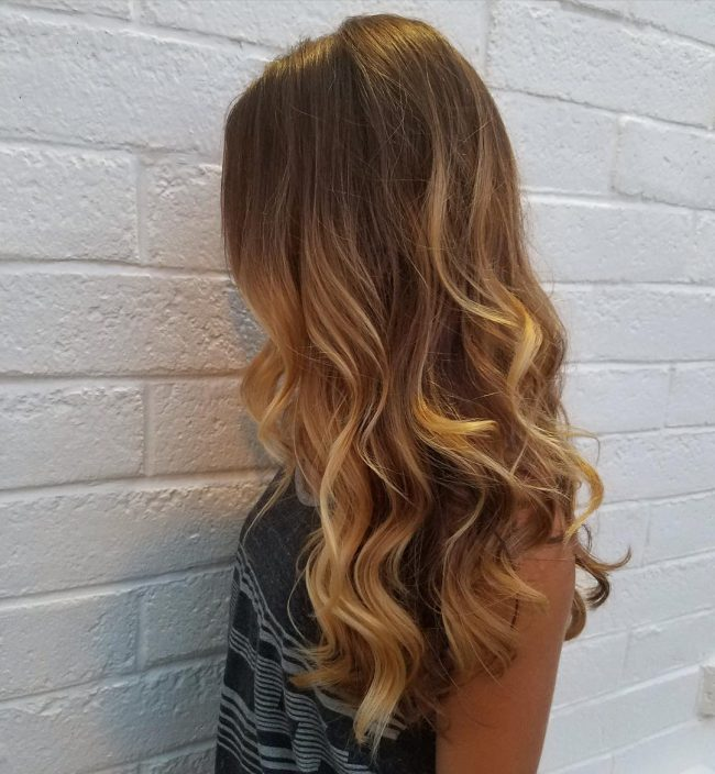 Wavy Ombre Blowout