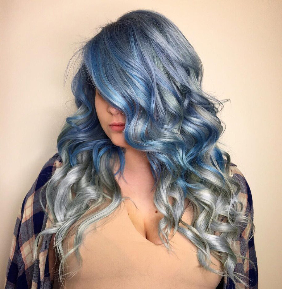25 dramatic pastel blue hair color ideas get ready for winter