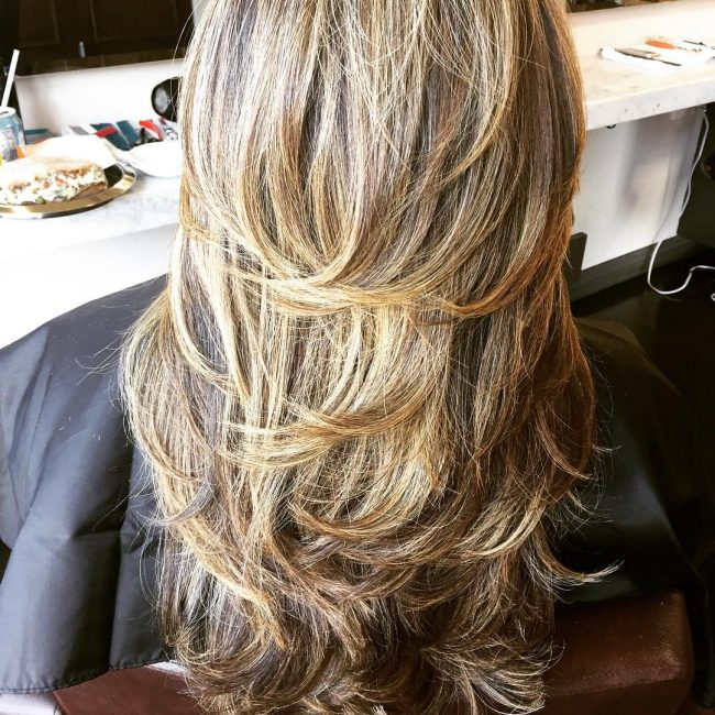 85 Gorgeous Long Layered Hairstyles Pretty And Chic Looks