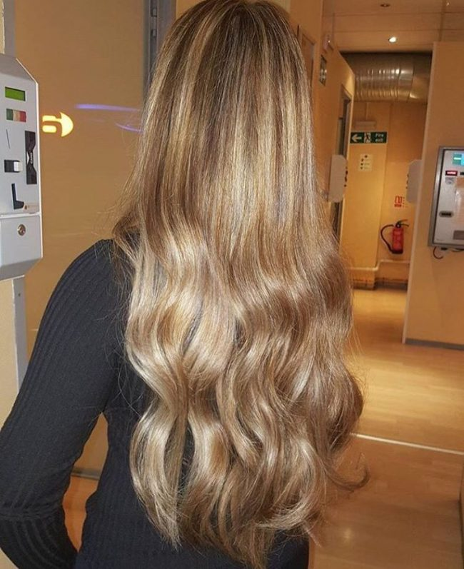 Partial Highlight For Asian Hair 45 Cool Blonde And Brown