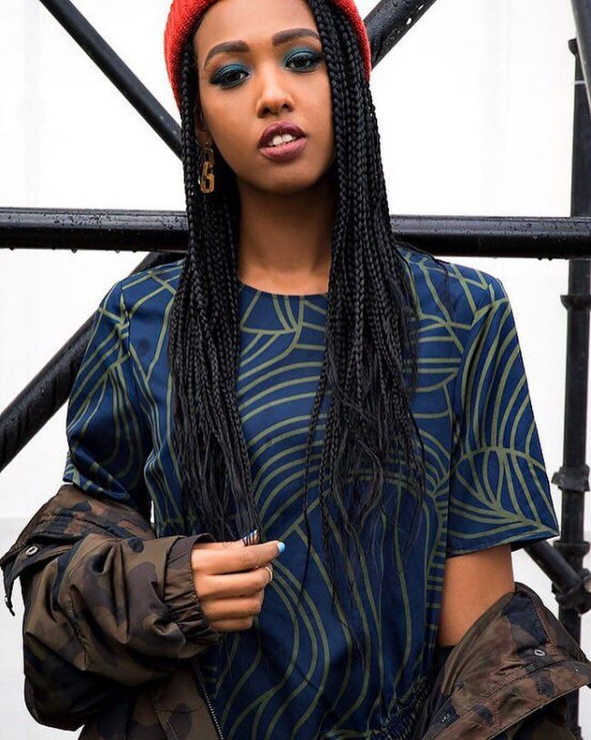 Box Braid Hairstyles 16