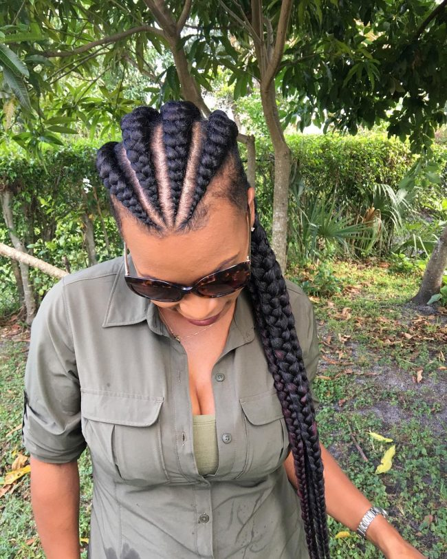 Box Braid Hairstyles 17