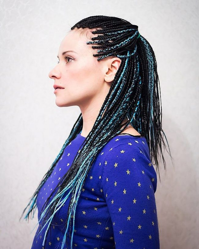Box Braid Hairstyles 20