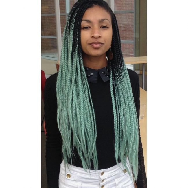 Box Braid Hairstyles 31