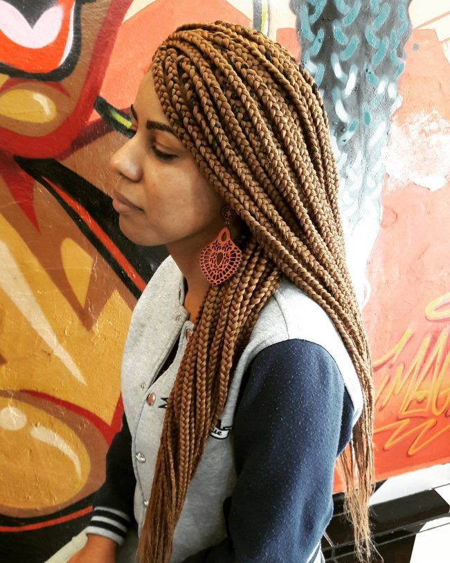 Box Braid Hairstyles 43