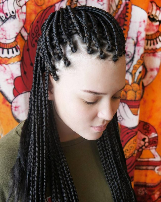 Box Braid Hairstyles 44