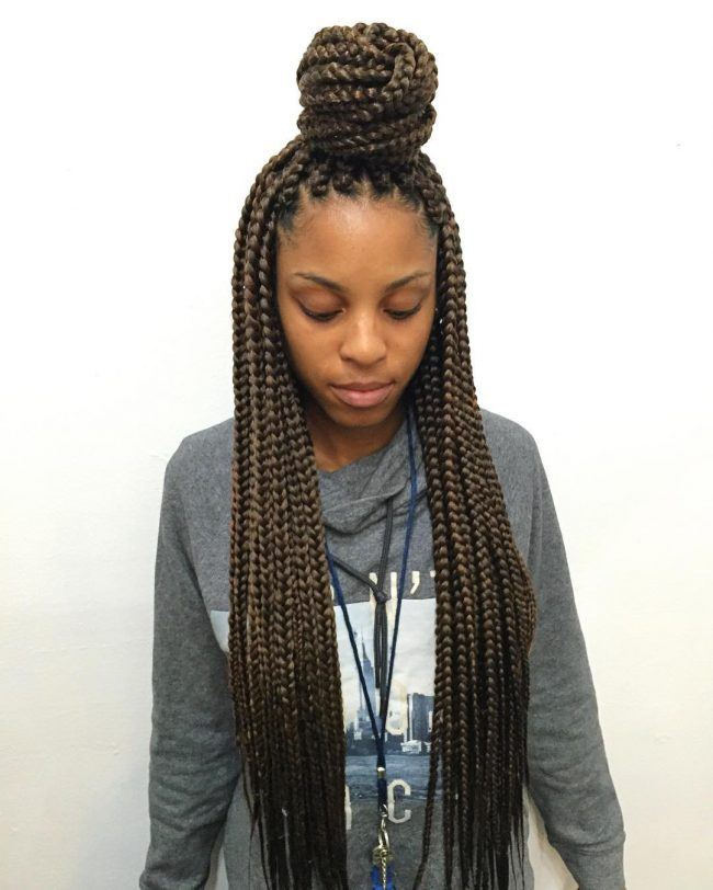 Box Braid Hairstyles 47