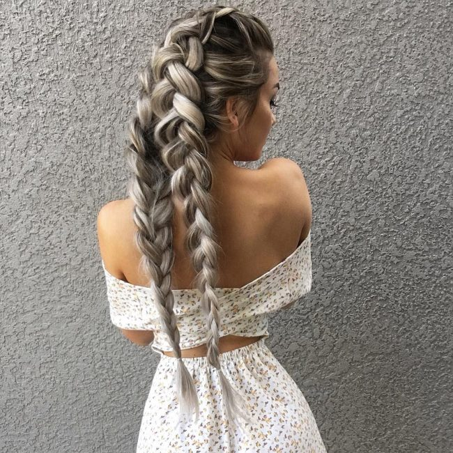 French Braid Hairstyles 1
