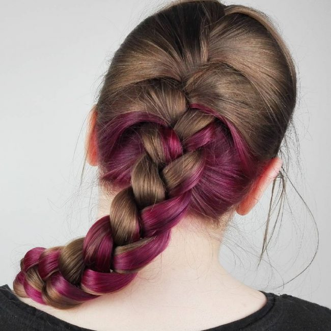 French Braid Hairstyles 21