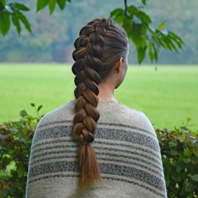 French Braid Hairstyles 29