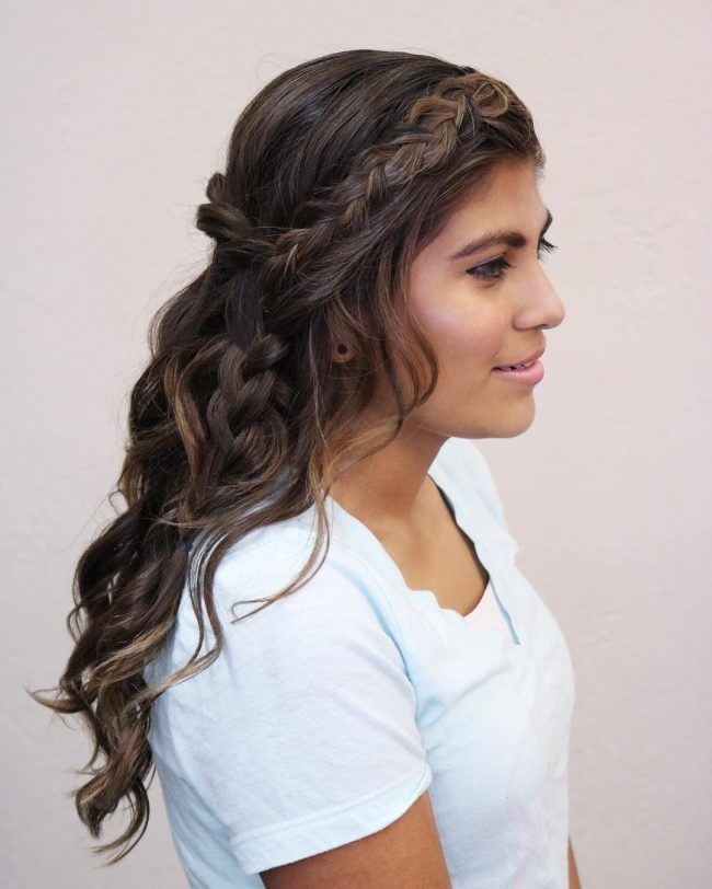 French Braid Hairstyles 32