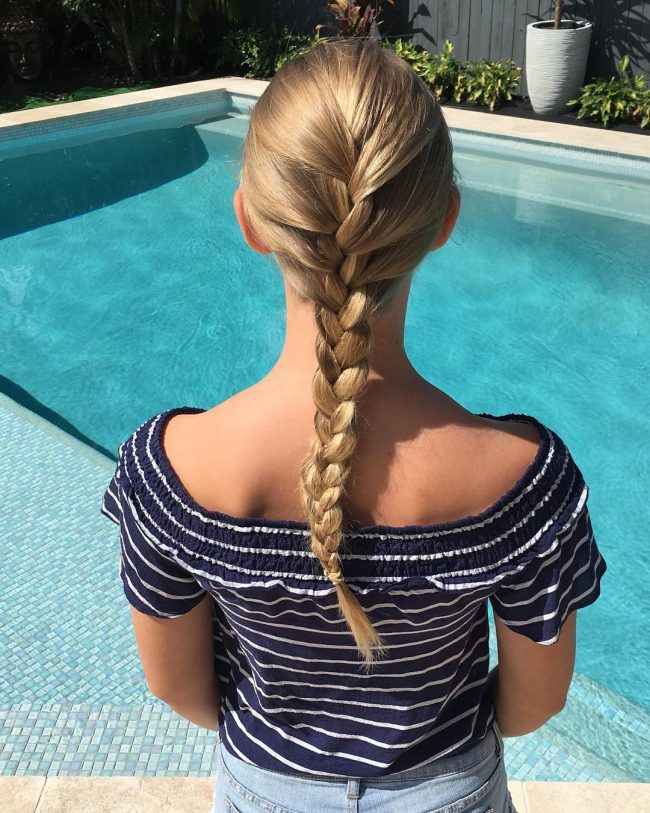 French Braid Hairstyles 34