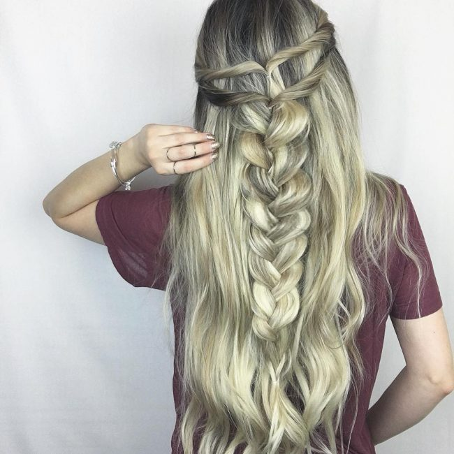 French Braid Hairstyles 4
