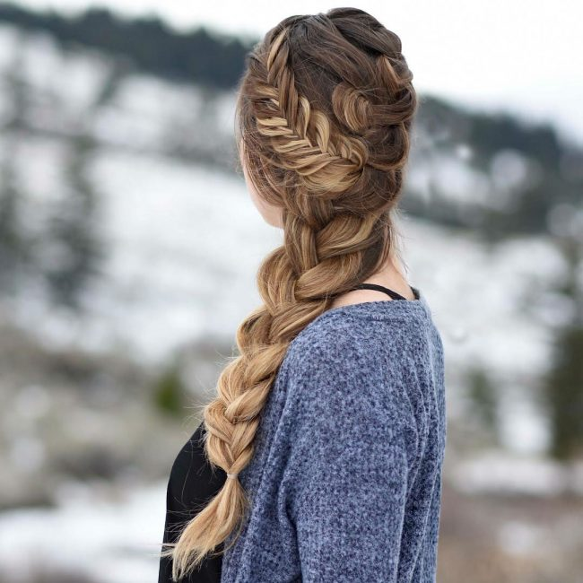French Braid Hairstyles 41