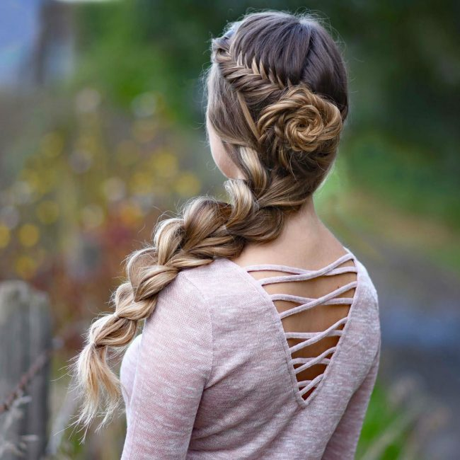 French Braid Hairstyles 43