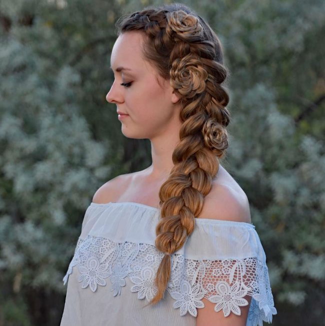 French Braid Hairstyles 50