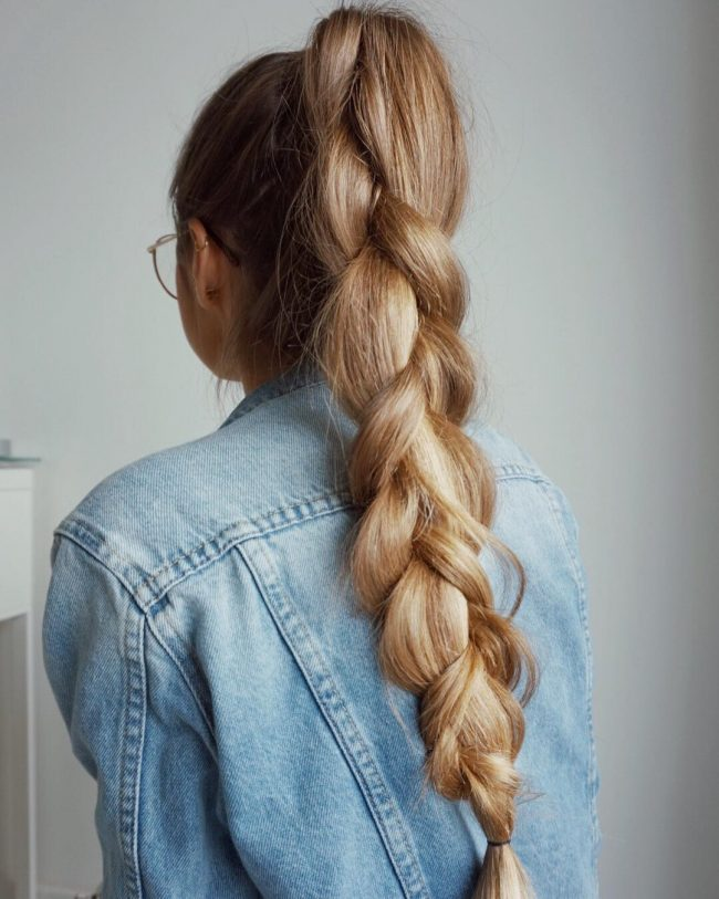 French Braid Hairstyles 7