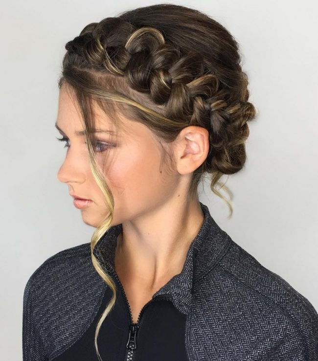 Homecoming Hairstyles 1