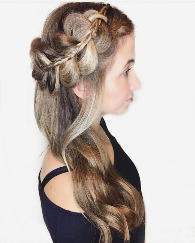 Homecoming Hairstyles 18