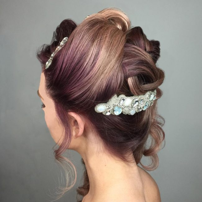 Homecoming Hairstyles 3