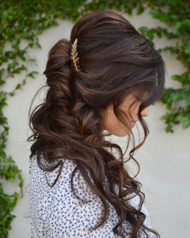 Homecoming Hairstyles 34