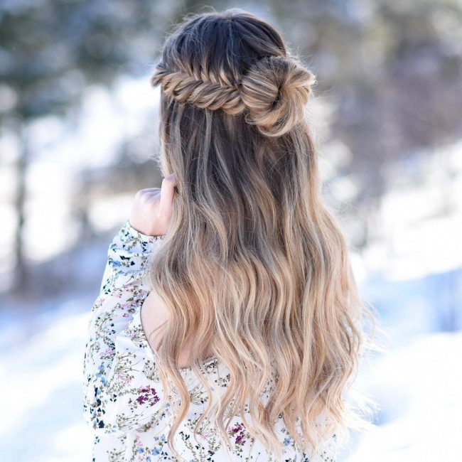 Homecoming Hairstyles 43