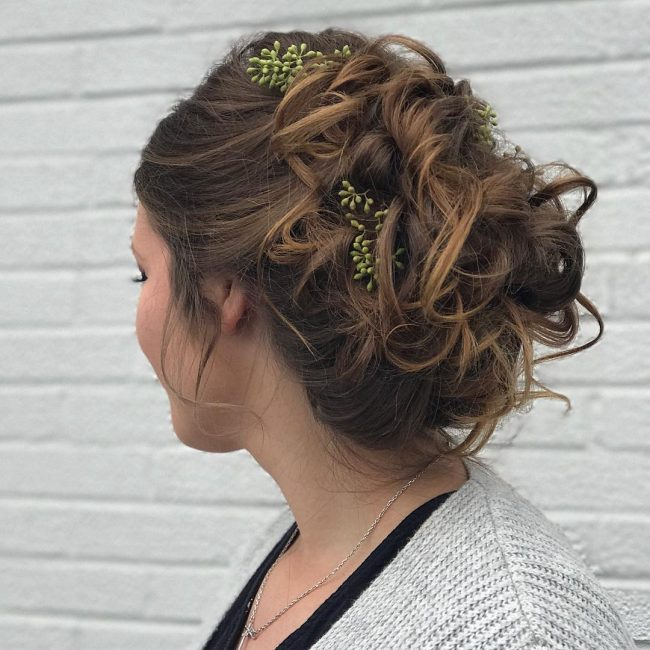 Homecoming Hairstyles 48