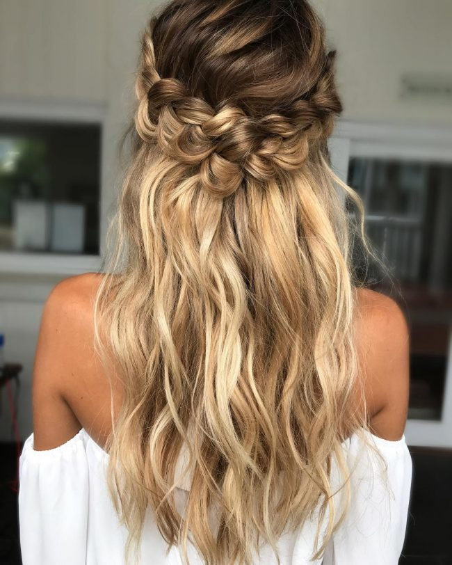 Homecoming Hairstyles 5