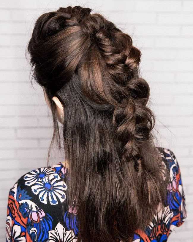 Homecoming Hairstyles 9