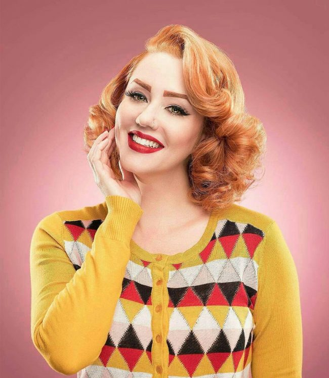 Pin Up Hairstyles 27