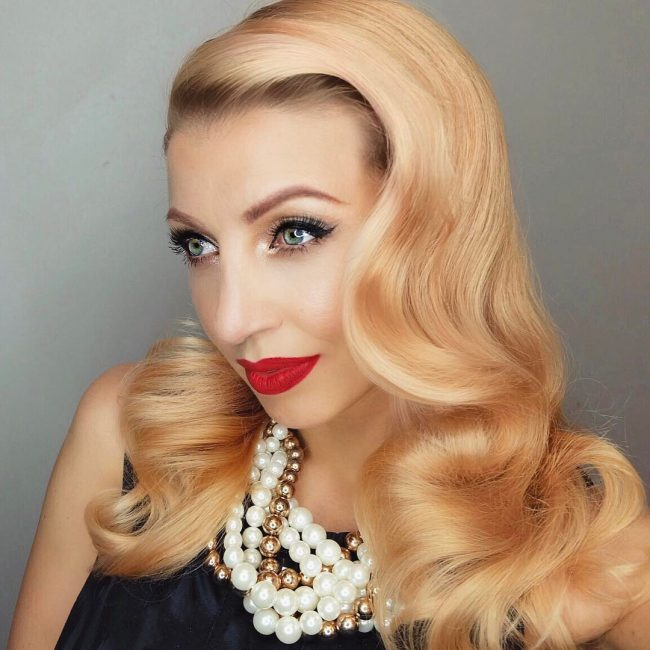 Pin Up Hairstyles 3
