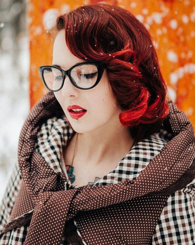 Pin Up Hairstyles 30