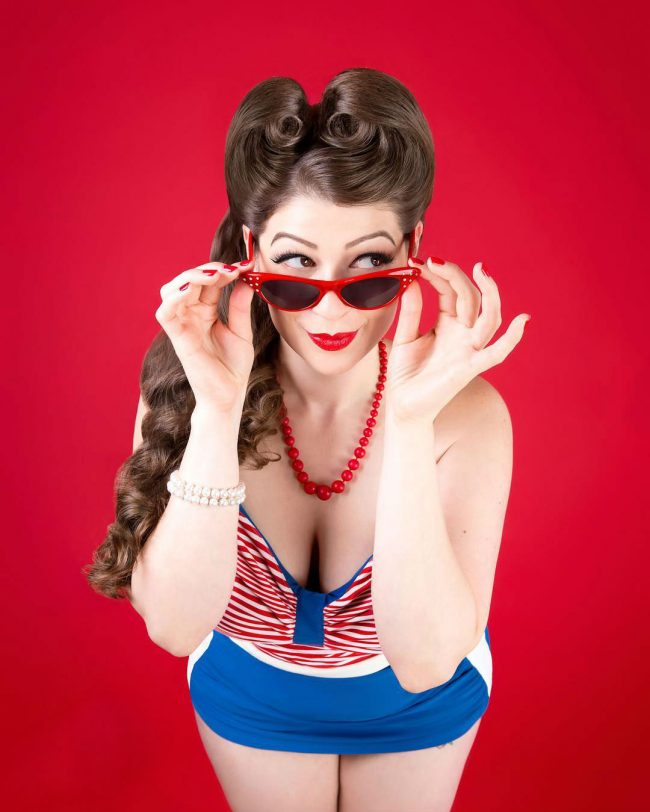 Pin Up Hairstyles 41